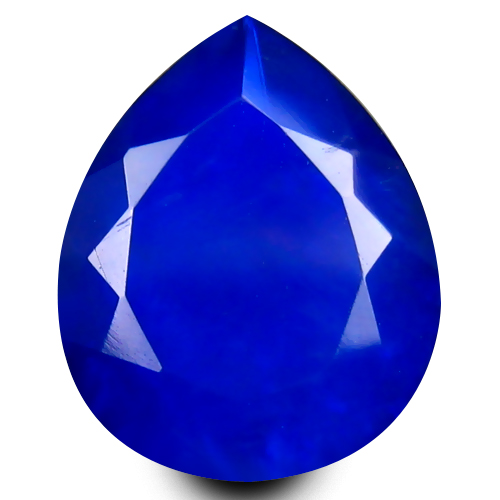 1.35 ct Charming VVS Clarity Pear Cut (10 x 8 mm) Violetish Blue Opal Natural Loose Gemstone