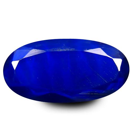 1.69 ct Astonishing VVS Clarity Oval Cut (14 x 7 mm) Violetish Blue Opal Natural Loose Gemstone
