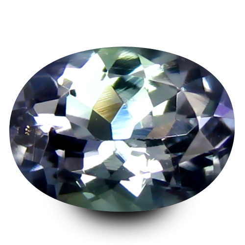 0.68 ct AAA Tremendous Oval Shape (6 x 5 mm) Greenish Blue Tanzanite Natural Gemstone