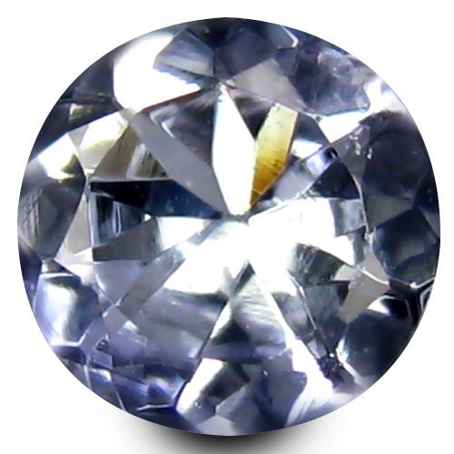 0.49 ct AAA Pleasant Round Shape (5 x 5 mm) Greenish Blue Tanzanite Natural Gemstone