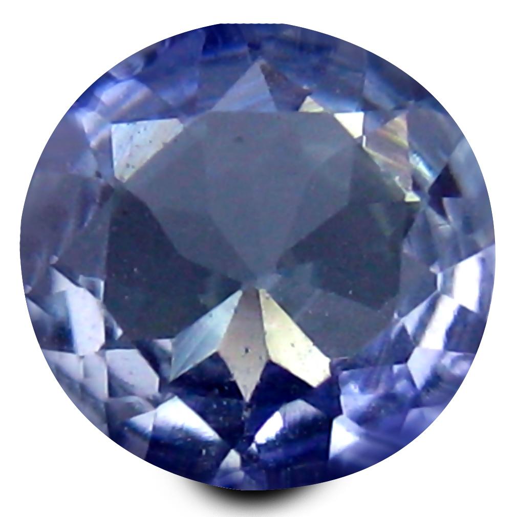 0.41 ct AAA Romantic Round Shape (5 x 5 mm) Greenish Blue Tanzanite Natural Gemstone