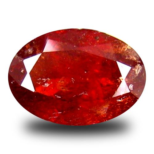 1.62 ct  Wonderful Oval Shape (8 x 6 mm) Red Spessartine Natural Gemstone