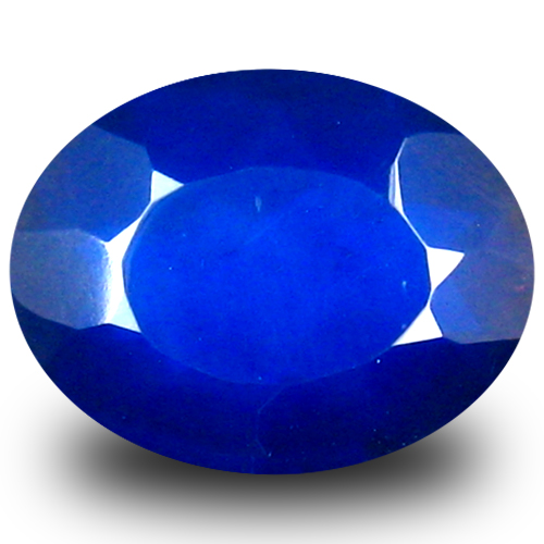 1.48 ct Very good VVS Clarity Oval Cut (10 x 8 mm) Violetish Blue Opal Natural Loose Gemstone