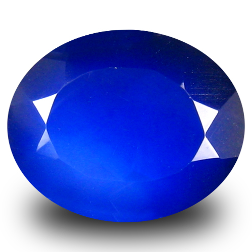 2.33 ct Terrific VVS Clarity Oval Cut (11 x 9 mm) Violetish Blue Opal Natural Loose Gemstone