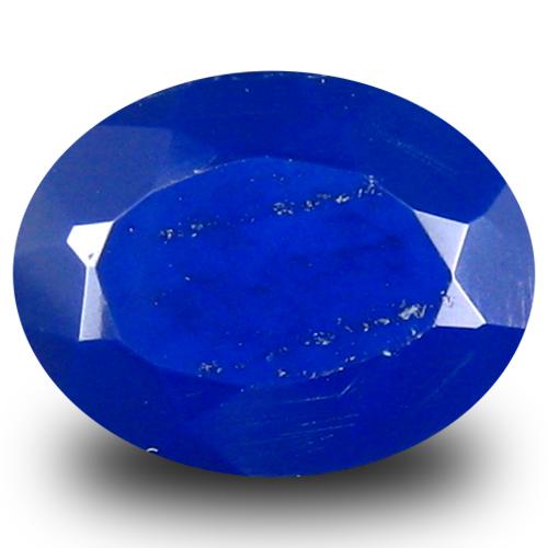 1.08 ct Awe-inspiring VVS Clarity Oval Cut (9 x 7 mm) Violetish Blue Opal Natural Loose Gemstone