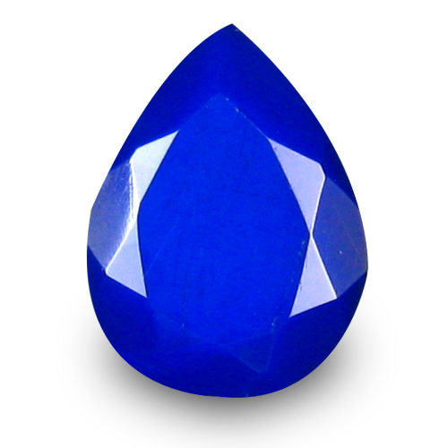 0.95 ct Spectacular VVS Clarity Pear Cut (9 x 7 mm) Violetish Blue Opal Natural Loose Gemstone