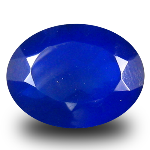 1.28 ct Great looking VVS Clarity Oval Cut (9 x 7 mm) Violetish Blue Opal Natural Loose Gemstone