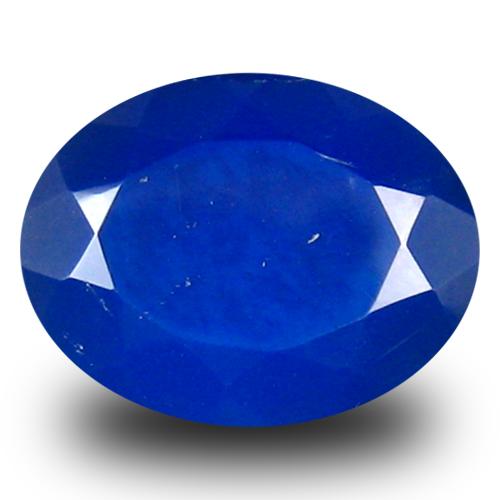 1.45 ct Fair VVS Clarity Oval Cut (10 x 8 mm) Violetish Blue Opal Natural Loose Gemstone