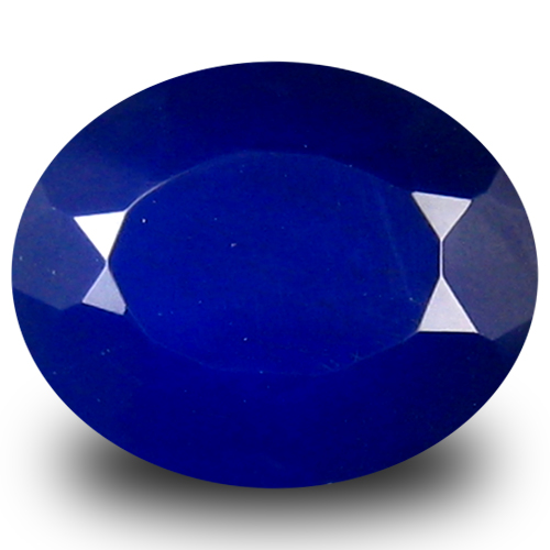 1.73 ct Terrific VVS Clarity Oval Cut (10 x 8 mm) Violetish Blue Opal Natural Loose Gemstone
