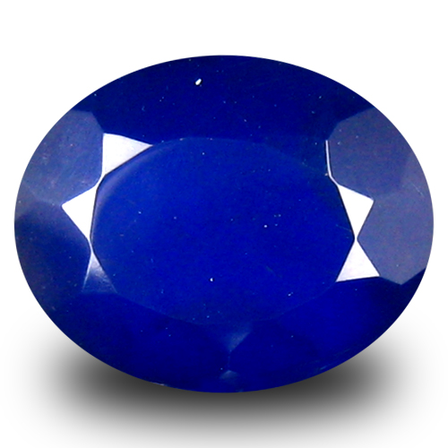 2.04 ct Mind-Boggling VVS Clarity Oval Cut (11 x 9 mm) Violetish Blue Opal Natural Loose Gemstone