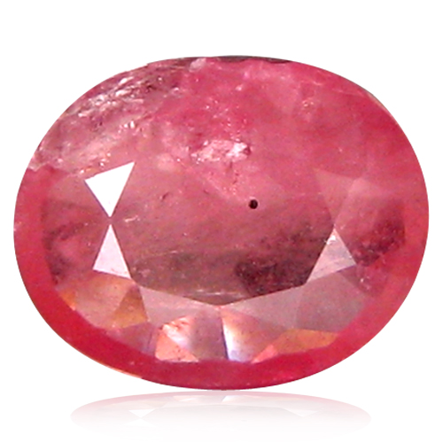 1.40 ct  Fantastic Oval Shape (8 x 6 mm) Reddish Orange Sapphire Natural Gemstone