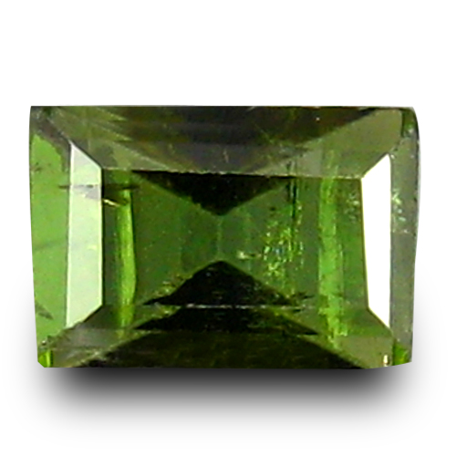 0.59 ct Marvelous Octagon Cut (6 x 4 mm) 100% Natural Green Color Tourmaline Gemstone