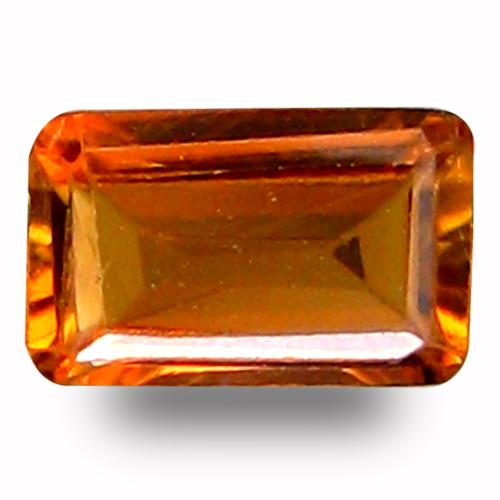 0.34 ct AAA Sparkling Octagon Shape (5 x 3 mm) Brown Tourmaline Natural Gemstone