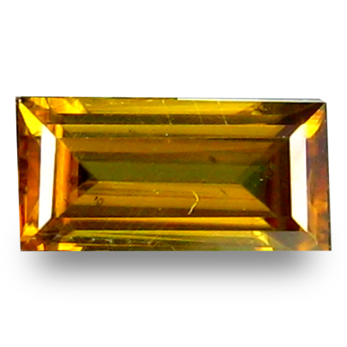 0.69 ct  Fabulous Octagon Shape (7 x 4 mm) Green Yellow Sphene Natural Gemstone