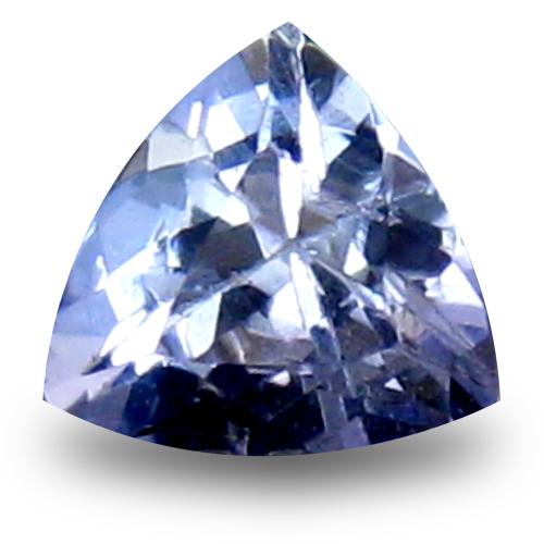 0.48 ct AAA Grand looking Trillion Shape (5 x 5 mm) Bluish Violet Tanzanite Natural Gemstone