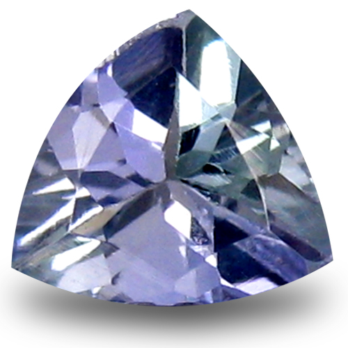 0.60 ct AAA Grand looking Trillion Shape (6 x 6 mm) Bluish Violet Tanzanite Natural Gemstone