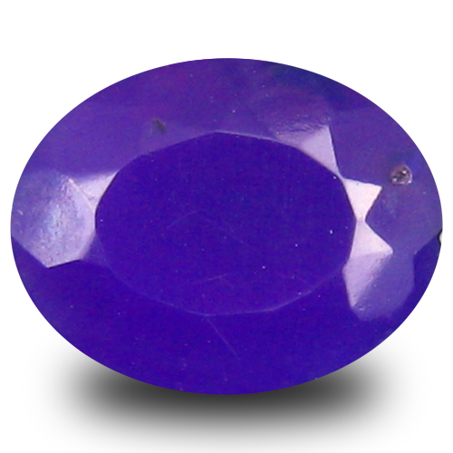 0.96 ct Valuable VVS Clarity Oval Cut (9 x 7 mm) Violet Opal Natural Loose Gemstone